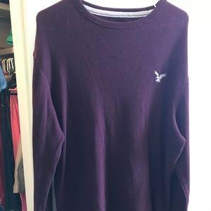 Burgundy sweater